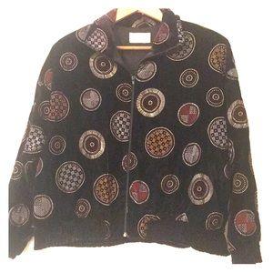 Jackets & Blazers - *Vintage* Cashe Painted Jacket